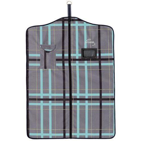 Pessoa Alpine 1200D Garment Bag - Clay/Teal Plaid