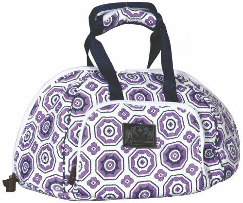 Equine Couture Kelsey Equestrian Helmet Bag - Purple