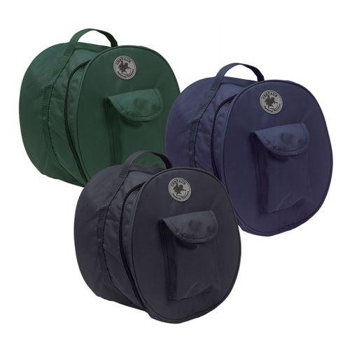Centaur Solid Lined Helmet Bag - Black