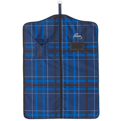 Pessoa Alpine 1200D Garment Bag - Navy/Black Plaid