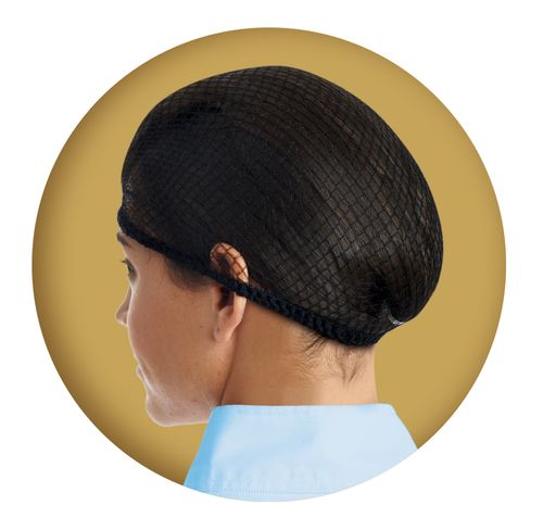 Ovation Deluxe Hair Net Two Pack - Black