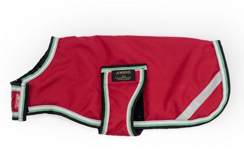 Amigo Dog Rug 100g - Red/White/Green/Black