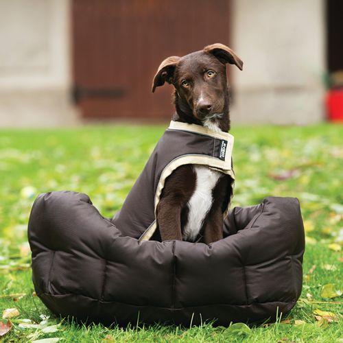 Rambo Waterproof Dog Rug 100g - Brown/Cream