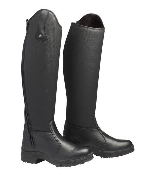 Mountain Horse Women's Active Winter Rider Shorter Height Tall Boot - Black