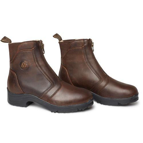 Mountain Horse Women's Snowy River Winter Zip Paddock Boot - Brown