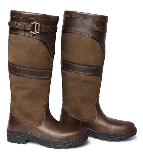 Mountain Horse Women's Devonshire Tall Barn Boot - Brown