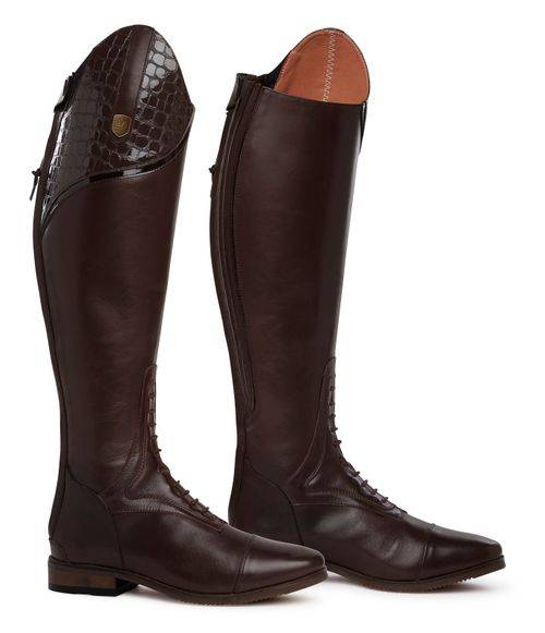 Mountain Horse Women's Sovereign LUX Field Boot - Brown