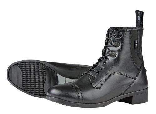 Saxon Kids' Syntovia Lace Paddock Boots - Black