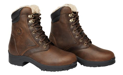 Mountain Horse Women's Snowy River Winter Lace Paddock Boot - Brown