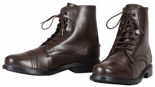 TuffRider Women's Starter Laced Paddock Boots - Mocha