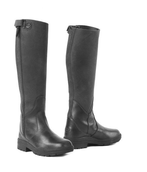 Ovation Women's Moorland II Waterproof Highrider Tall Boot - Black