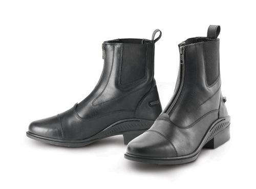 Ovation Men's Aeros Zip Front Showmaster Paddock Boot - Black