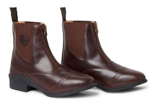 Mountain Horse Women's Aurora Zip Paddock Boot - Brown