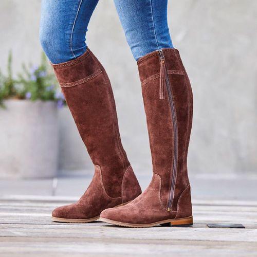 Dublin Women's Kalmar SD Tall Boots - Chocolate