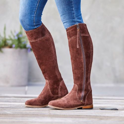 Dublin Women's Kalmar SD Tall Boots - Chocolate