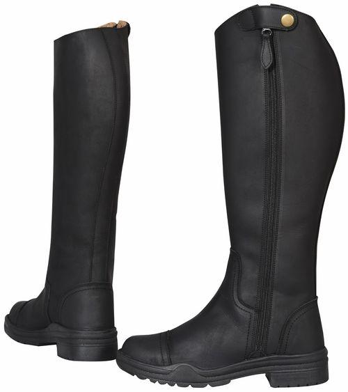 TuffRider Women's Arctic Fleece Lined Winter Riding Boots - Black