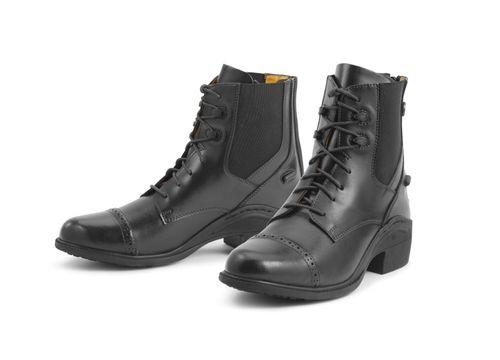 Ovation Women's Synergy Back Zip Paddock Boot - Black
