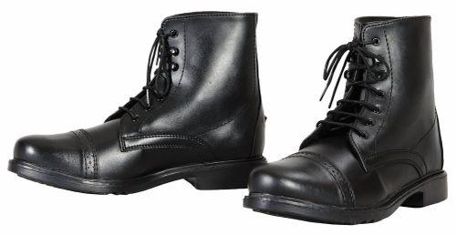 TuffRider Women's Starter Laced Paddock Boots - Black