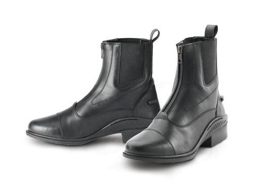 Ovation Women's Aeros Showmaster Zip Front Paddock Boot - Black