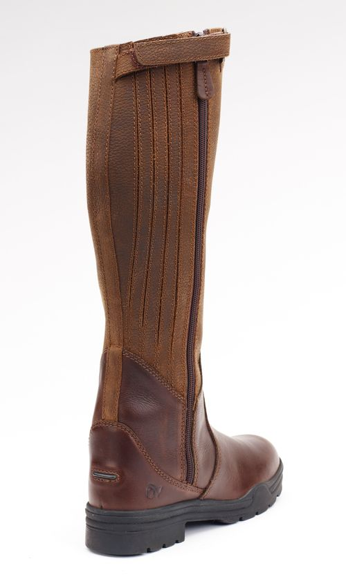 Ovation Women's Moorland II Waterproof Highrider Tall Boot - Brown