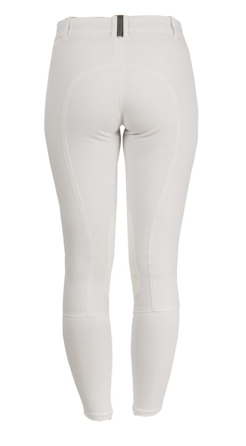 Alessandro Albanese Women's Letta Knee Patch Breeches - White