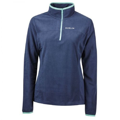 Dublin Women's Odelia 1/4 Zip Thru Top - Marina/Navy