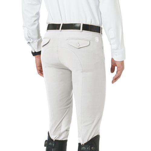 Romfh Men's Argento Knee Patch Euroseat - White