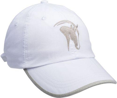 Kelley and Company Horse Head Logo Cap - White