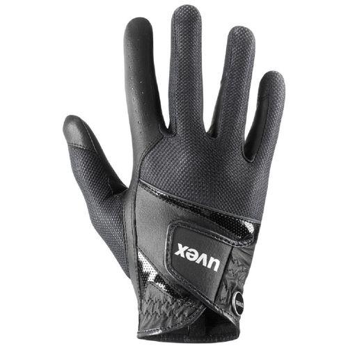 uvex Sumair Riding Gloves - Black/Black