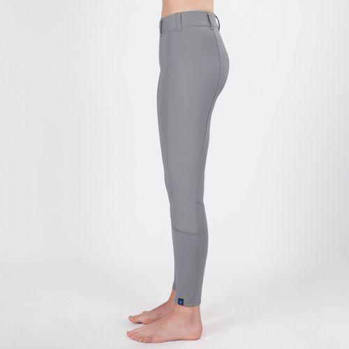 Irideon Women's Cadence Knee Patch Tights - Dove Grey