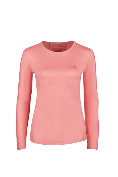 Dublin Women's Pegasus Long Sleeve Tech Top - Pink