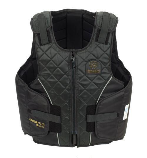 Ovation Kids' Comfortflex Body Protector - Black