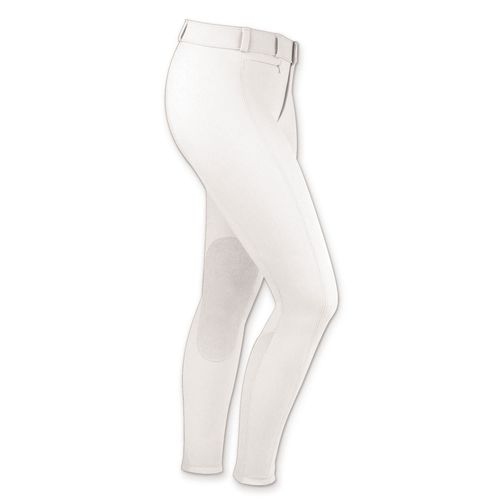 Irideon Women's Courdelay Knee Patch Breeches - White