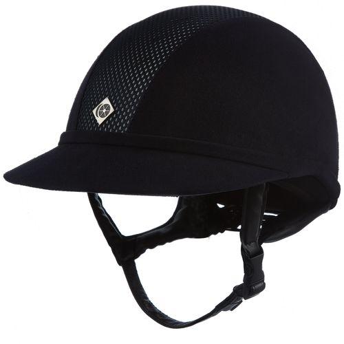 Charles Owen SP8 Plus Helmet - Black with Silver