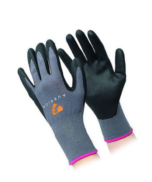 Aubrion All Purpose Yard Gloves - Grey