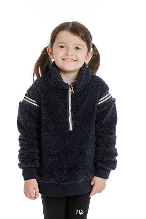 Horseware Kids' Sherpa Pullover - Navy