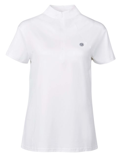 Dublin Women's Tucana Short Sleeve Competition Top - White