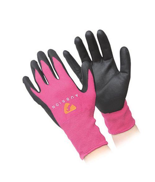 Aubrion All Purpose Yard Gloves - Pink