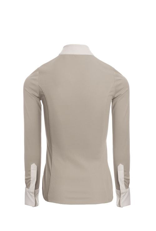 Alessandro Albanese Women's CleanCool Fresh Competition Shirt - Pearl Grey