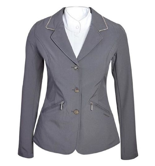 Horseware Women's Embellished Competition Jacket - Grey