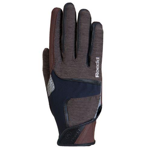 Roeckl Mendon Riding Gloves - Mocha