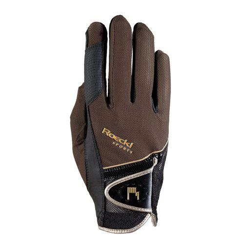 Roeckl Madrid Riding Gloves - Mocha
