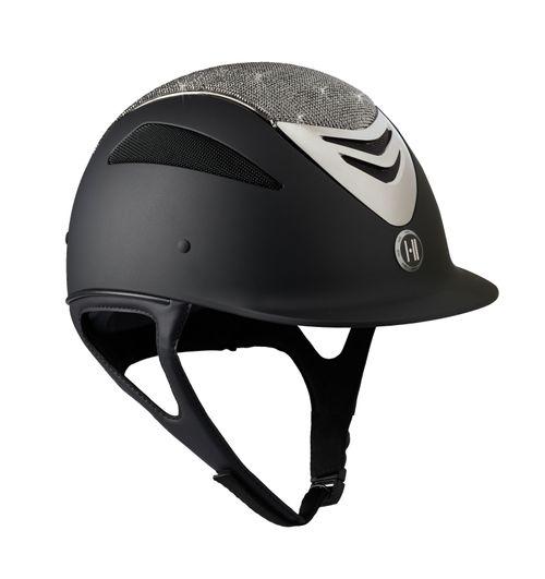 One K Defender Glamour Chrome Helmet - Black Matte