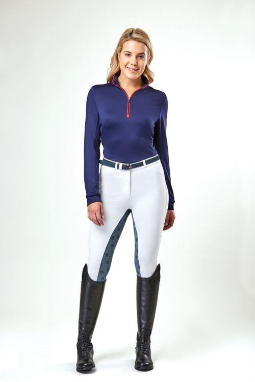 Dublin Women's Kylee Long Sleeve Shirt - Navy