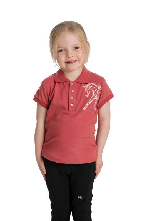 Horseware Kids' Flamboro Polo - Rose