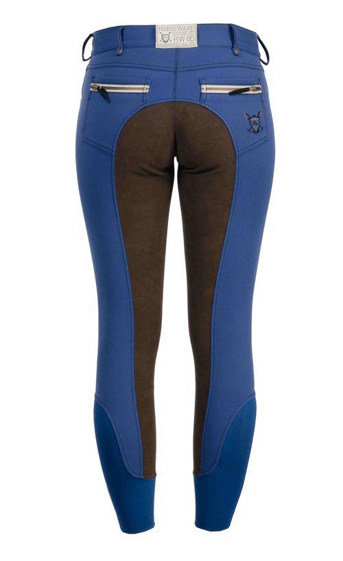 Horseware Women's Full Seat Winter Breeches - Imperial Blue
