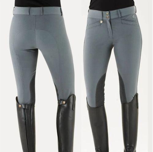 Ovation Women's Celebrity Slim Secret Knee Patch - Grey