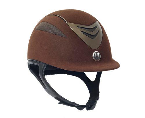 One K Defender Suede Helmet - Brown Matte