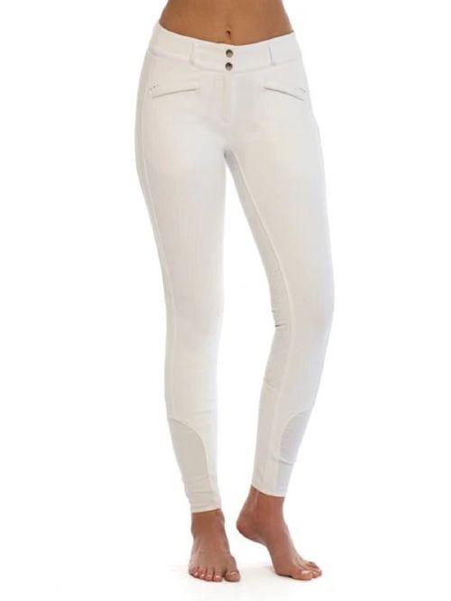 Goode Rider Women's Miracle Full Seat Breeches - White