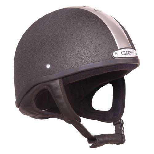 Champion Ventair Deluxe Skull Cap - Black/Silver